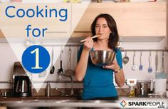 Cooking for one or two is a challenge, but you can save time and money while preventing food waste by using these tips. via @SparkPeople