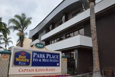 The Best Western Park Place Inn has one of the best locations for a Good Neighbor Hotel and is a favorite because of that.