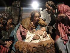 Luisa Roldán. Adoración de los pastores (1689-1706). Real Monasterio de Carmelitas Descalzas de Santa Teresa de Jesús. Madrid.