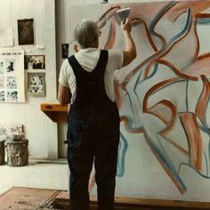 #dekooning #inthestudio 1984