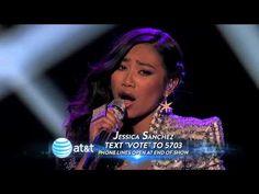Jessica Sanchez - Stuttering - Top 7 - AMERICAN IDOL SEASON 11