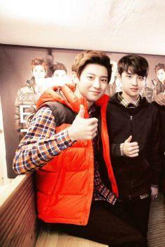 Chanyeol and Kyumgsoo