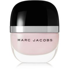 Marc Jacobs Beauty Enamored Hi-Shine Nail Lacquer - Resurrection (9.980 CRC) ❤ liked on Polyvore featuring beauty products, nail care, nail polish, makeup, filler, nails, pastel pink, marc jacobs, shiny nail polish and glossy nail polish