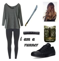 """The Maze Runner"" by boston-c on Polyvore featuring NIKE, Converse, Under Armour, women's clothing, women, female, woman, misses and juniors"