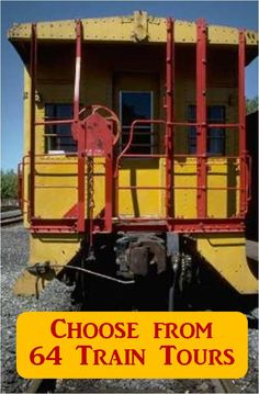 Over 64 Train Tours to choose from! - Kid Vacations to Remember, train rides and tours. Find one near where you live or are going to be vacationing.  Many have special themed rides including Civil War Enactments, Grandparents Day, Pumpkin Patch, Candy Cane, and Polar Express Rides.