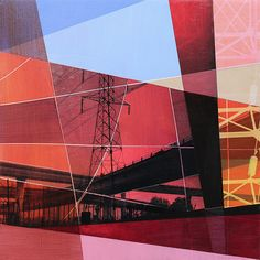 Intersections and Subdivisions by artist Jon Measures at Whawi.com