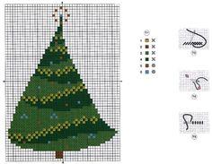 Spira's Tree • Chart and Colour Key