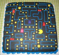 Pac-Man Birthday Cake.@Blik