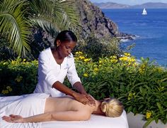 Dramatically situated on the cliff's edge, Sense® spa at Rosewood Little Dix Bay overlooks the glistening Sir Francis Drake Channel and the resort below. http://brands.datahc.com/?a_aid=63082&brandID=286932