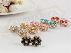 12 X Chain Pin// Brooch With End Cap Many Colours And Models Hijab Scarf Pin