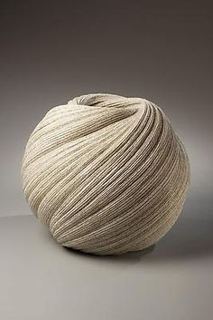 Large, twisting vessel with diagonally-incised cascading folds by SAKIYAMA Takayuki, Japan