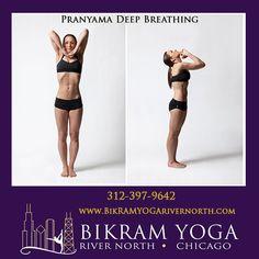 Bikram's Pranyama Deep Breathing Pose #BikramYogaRiverNorth #BikramYoga #YogaPoses #BikramYoga26Postures #PranyamaDeepBreathingPose Bikram Yoga Poses, Body Parts, Flexibility, Chicago, Back Walkover