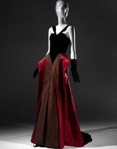 Charles James Evening dress, 1946