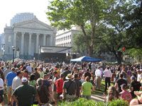 Wednesday at the Square - free concerts in Lafayette Square from 5-8pm.  Our hotel is right by the square
