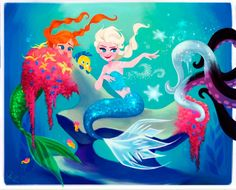 Se as Princesas Disney trocassem de lugar | Just Lia