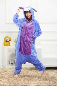 0b15a02d66 2018 New Onesie Wholesale Animal Stitch Star Unicorn Kigurumi Adult Unisex Women  Pajamas Hooded Sleepwear Adult Winter Fannel