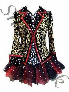 Shamrock Stitchery Irish Dance Solo Dress Costume - the bodice is so cool