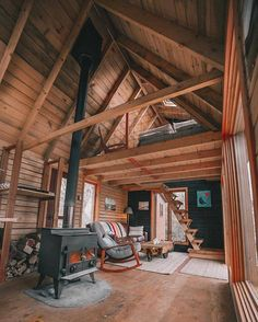 Are A-frame Cabin Kits Worth it? Tiny House Cabin, Cabin Homes, Log Homes, Tiny Houses, Bus House, A Frame Cabin, A Frame House, Cabin Design, House Design