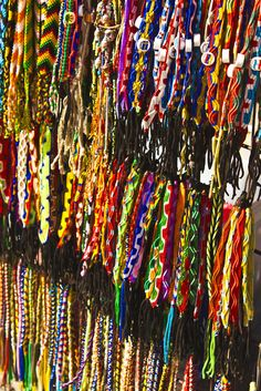 Jewelry display - Colorful and lots of choices