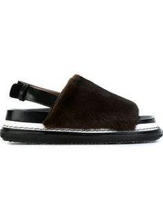 'Fussbett' sandals $1,337 #Farfetch #womensfashion #marni