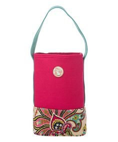 Spartina 449 Pink Salt Meadow Double Wine Caddy   zulily