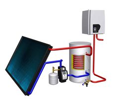 invest in a solar water heater. Save up to 190 a year! Future Energy, Solar Water Heater, Global Warming, Solar Energy, Drafting Desk, Home Decor, Free, Solar Power, Homemade Home Decor