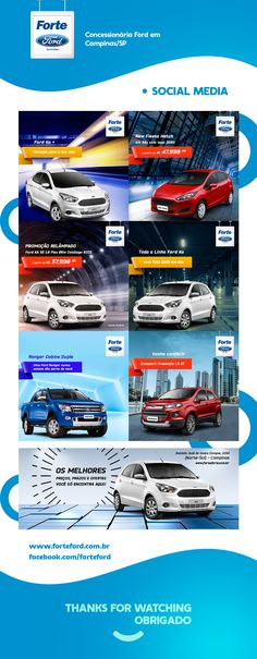 Forte Ford - Social Media on Behance