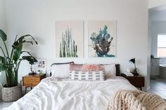 Calming Bedroom space
