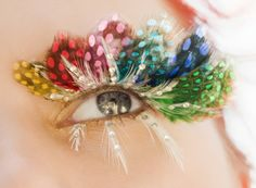 Polka Dot Feather Lashes By Make Up Forever Feather Eyelashes, False Eyelashes, Eyelashes Makeup, Makeup Art, Hair Makeup, Makeup Ideas, Makeup Designs, Makeup Style, Makeup Trends