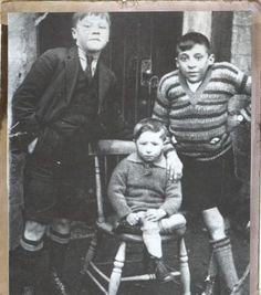 "William ""Bill"" Shankly, the boy (far left)."