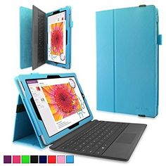 Surface 3 Case - Infiland Premium PU Leather Folio Stand Case Cover for Microsoft Surface 3 10.8-Inch Windows 8.1 Tablet only (Not Fit Microsoft Surface Pro 3 12-Inch), Blue Infiland http://www.amazon.com/dp/B012CMW1MS/ref=cm_sw_r_pi_dp_654Iwb0AEBV7M