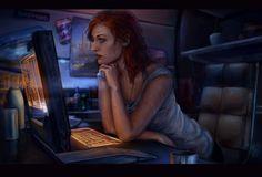 mass effect fanart, Anna Helme on ArtStation at www.artstation.co...