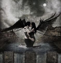 Twin flames. Both a blessing and a curse, bound and separated by chains.