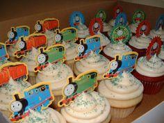 thomas train birthday party ideas | Thomas the Train Party (w/Thomas prize toppers)