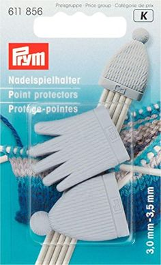 Prym 611856 Point Protector - I Crochet World Needles Play, Needles Sizes, Knitting Needles, Knitting Kits For Beginners, Baby Kit, Yarn Stash, Crochet World, Knitting Supplies, Circular Needles