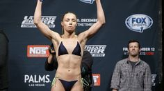 Know who are the hottest female fighters in MMA. Top 10 sexy fighters in rings images, facts. Here are the hottest mma fighters. Rose Namajunas, Ufc Fight Night, Female Fighter, Mma, Bikinis, Swimwear, Las Vegas, Father, Sexy