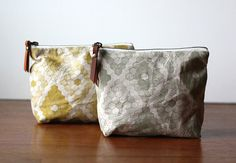 Large Zipper Pouch  Honeycomb by jennarosehandmade on Etsy, $24.00