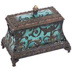 Turquoise Box <3 #turquoise #box