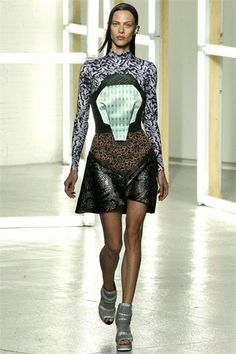 New York Fashion Week - Rodarte  by Kate and Laura Mulleavy