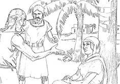 bible coloring pages about deborah - photo#25