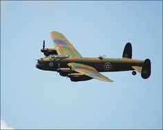 WWII British Avro Lancaster Heavy Bomber Aircraft