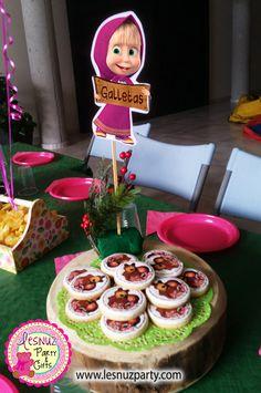Temática Masha y el Oso Lesnuzparty - Masha and the bear party themed