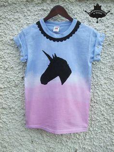 Galaxy, Unicorn, Spiked, Short Sleeve, Unisex Shirt.