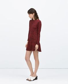 LONG-SLEEVE DRESS-View all-Dresses-WOMAN | ZARA United States