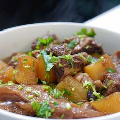 Obtain Chinese Meat Dish Beef Shin Recipes, Beef Brisket Recipes, Asian Recipes, Chinese Recipes, Chinese Food, Chinese Style, Daikon Recipe, Slow Cooker Pork Belly, Asian Beef