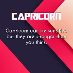 capricorn daily astrology fact