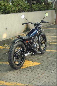 Yamaha Scorpio - Besi Moto Project - Goodhal Garage