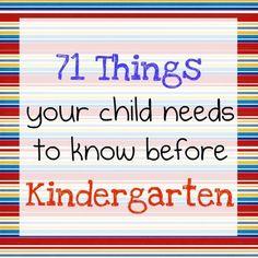 Getting E prepared for Kindergarten next year! nanny4two