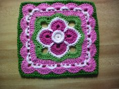 """Ravelry: Project Gallery for The Darkness Held at Bay 10"""" and 12"""" Block pattern by Shan Sevcik"""
