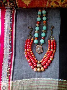 my designs-ethnic jewelry. Tsafi Gome Designs.
